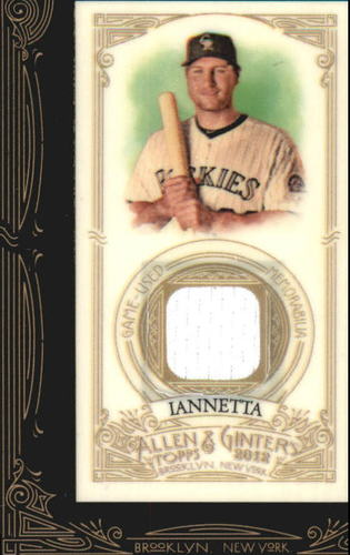 Photo of 2012 Topps Allen and Ginter Relics #CI Chris  -- D'backs post-season