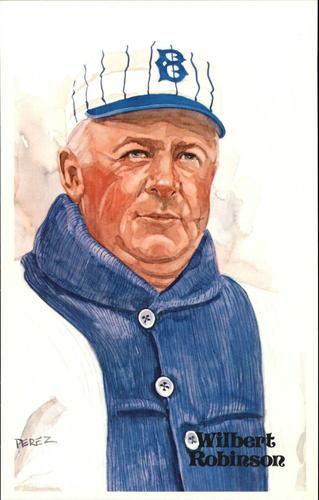 Photo of 1980-02 Perez-Steele Hall of Fame Postcards #38 Wilbert Robinson -- Set #08689