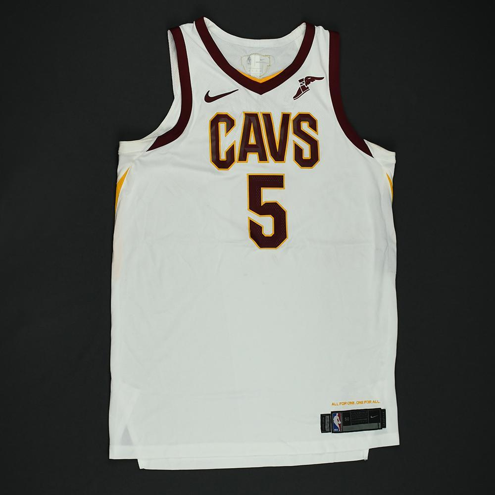 JR Smith - Cleveland Cavaliers - 2018 NBA Finals - Game 2 - Game-Worn White Jersey