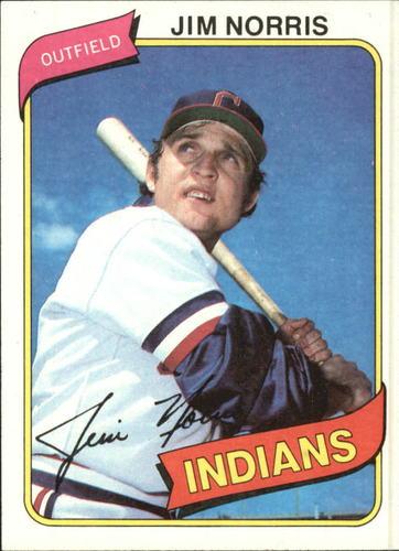 Photo of 1980 Topps #333 Jim Norris DP