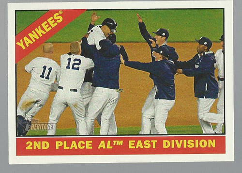 Photo of 2015 Topps Heritage #92 New York Yankees