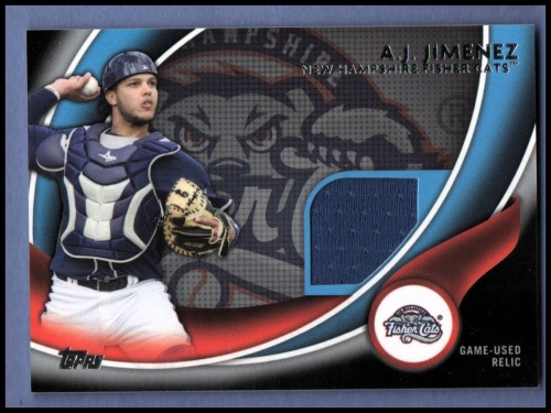 Photo of 2014 Topps Pro Debut Debut Duds Jerseys Silver #DDJAJ A.J. Jimenez