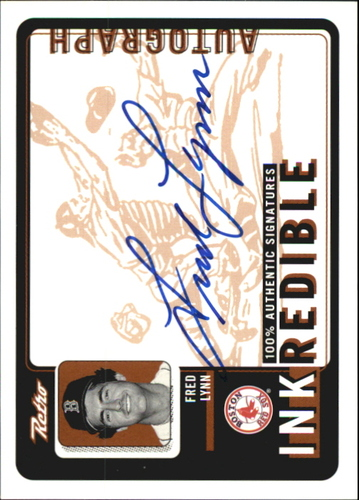 Photo of 1999 Upper Deck Retro Inkredible #FL Fred Lynn