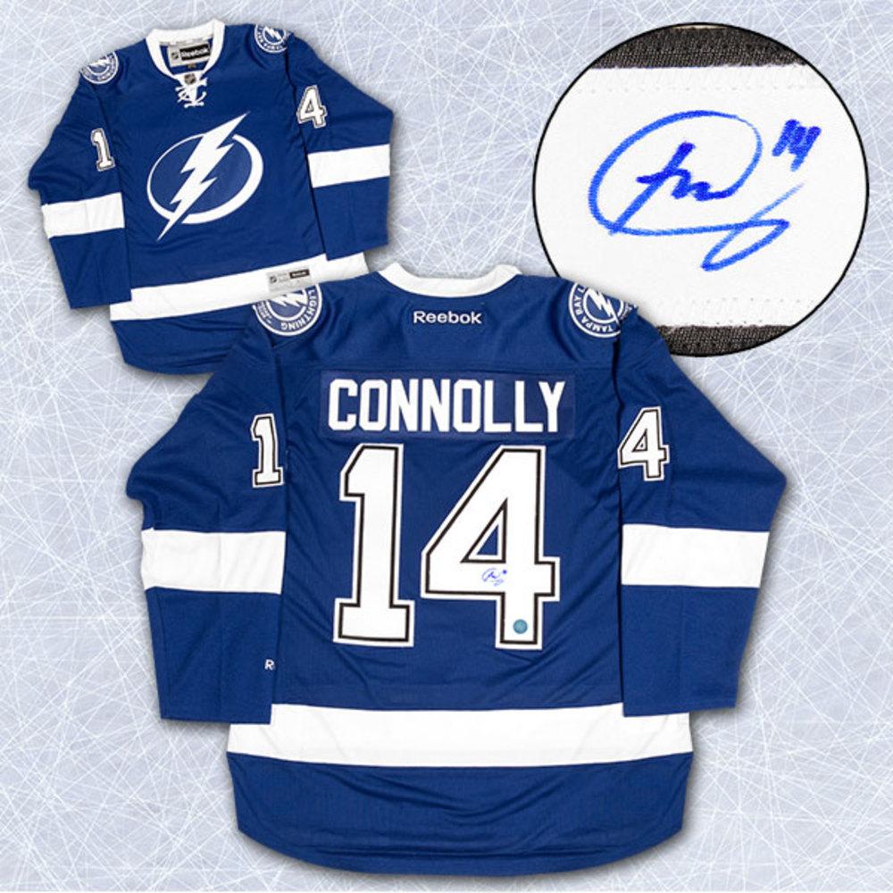 Brett Connolly Tampa Bay Lightning Autographed Reebok Premier Hockey Jersey