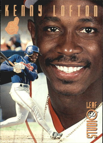 Photo of 1996 Studio Bronze Press Proofs #45 Kenny Lofton