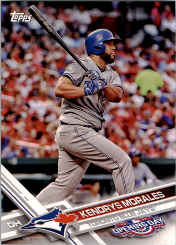 Photo of 2017 Topps Opening Day #46 Kendrys Morales