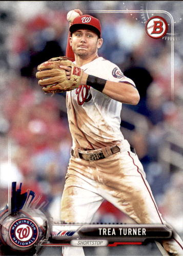 Photo of 2017 Bowman #12 Trea Turner