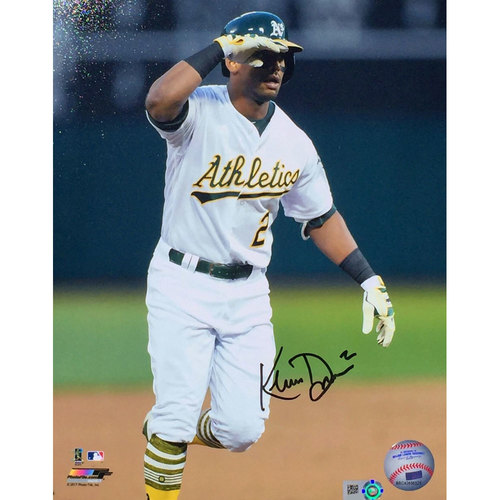 "Photo of Khris Davis ""Salute"" Autographed Photo"