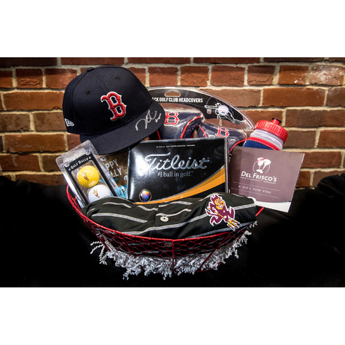 Photo of Red Sox Wives' Hurricane Harvey Basket Auction: Dustin Pedroia Basket