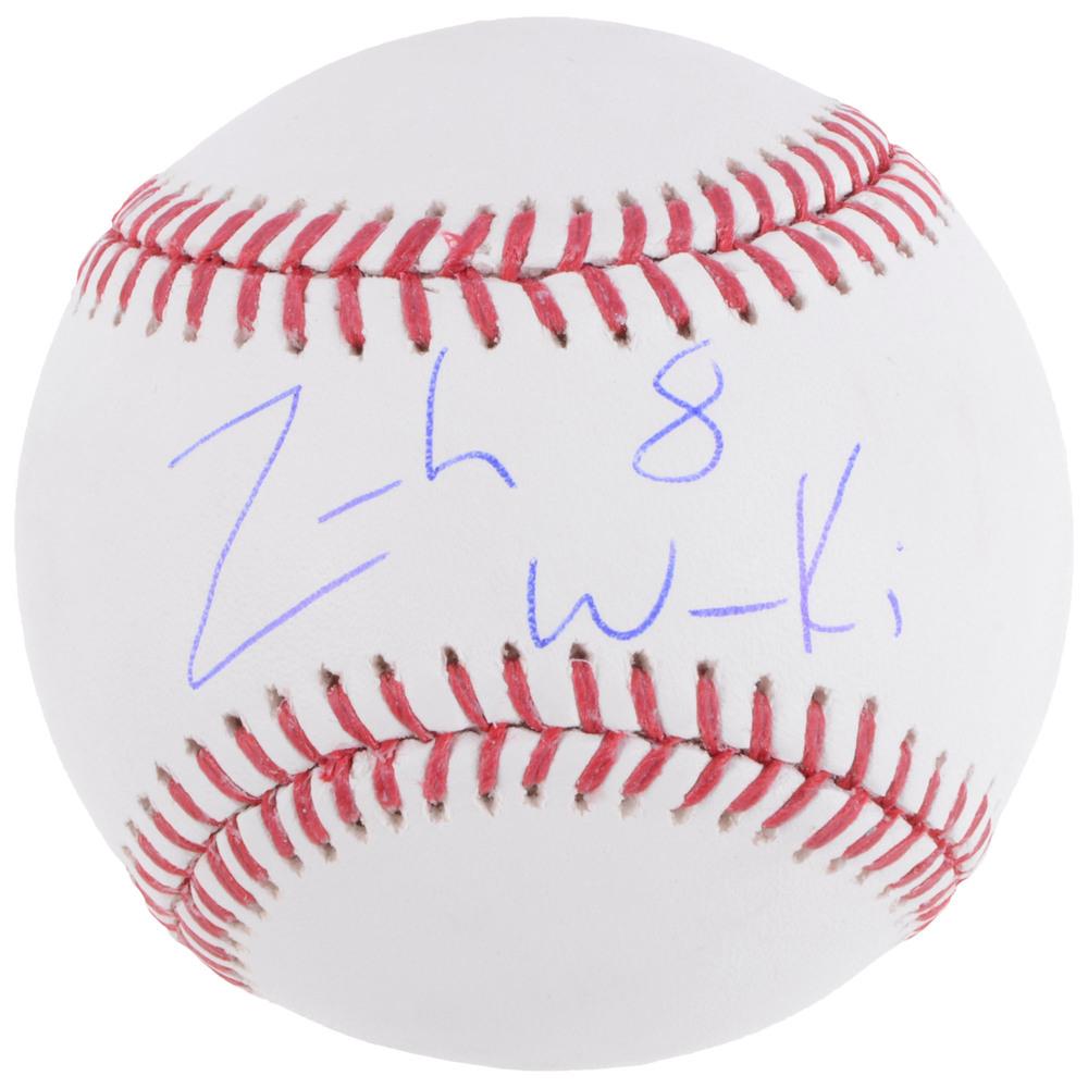 Zach Werenski Columbus Blue Jackets Autographed Baseball With Free Mahogany Case