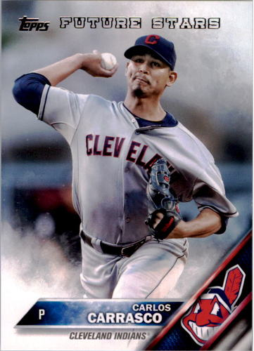 Photo of 2016 Topps #140 Carlos Carrasco FS