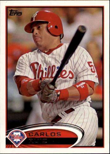 Photo of 2012 Topps #117 Carlos Ruiz