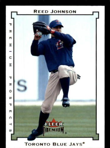 Photo of 2002 Fleer Premium #249 Reed Johnson UPD RC
