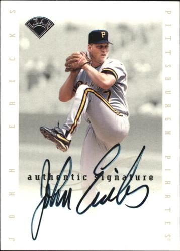 Photo of 1996 Leaf Signature Extended Autographs #47 John Ericks