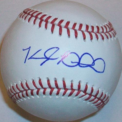Kyle Drabek Autographed Baseball