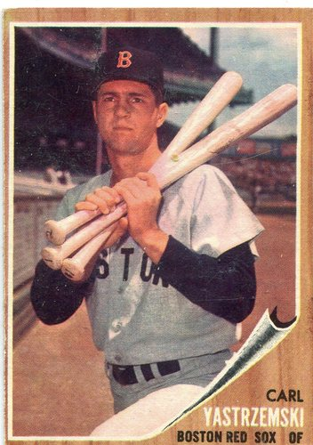 Photo of 1962 Topps #425 Carl Yastrzemski -- Red Sox Hall of Famer