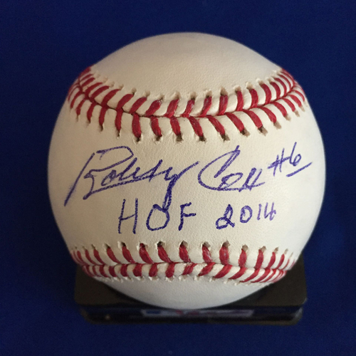 Photo of UMPS CARE AUCTION: Bobby Cox Signed Baseball