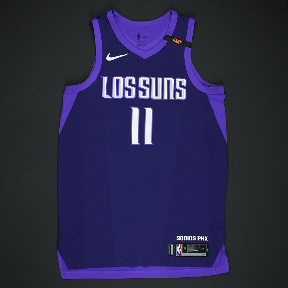 Brandon Knight - Phoenix Suns - Game-Issued 'Los Suns' City Jersey - 2017-18 Season