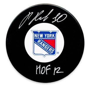 Pavel Bure New York Rangers HOF Autographed Puck