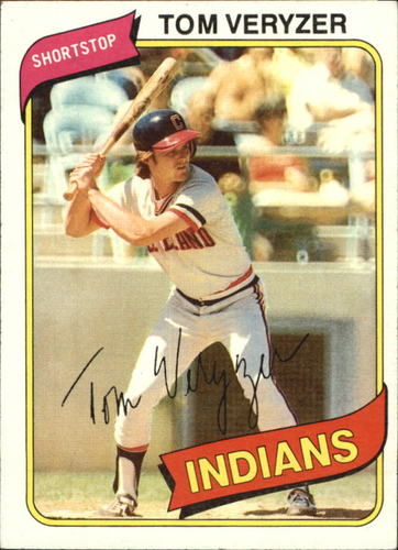 Photo of 1980 Topps #276 Tom Veryzer