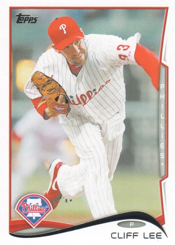 Photo of 2014 Topps #629A Cliff Lee