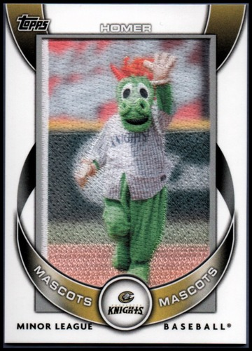 Photo of 2014 Topps Pro Debut Mascots #MMHO Homer