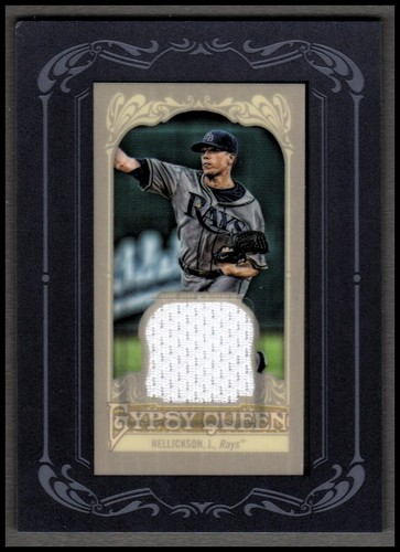 Photo of 2012 Topps Gypsy Queen Framed Mini Relics #JH Jeremy Hellickson