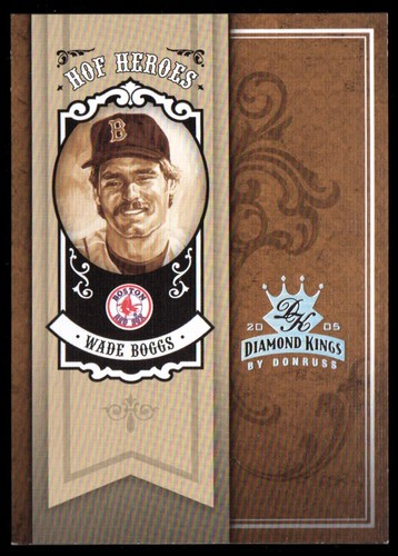 Photo of 2005 Diamond Kings HOF Heroes Silver #94 Wade Boggs Sox