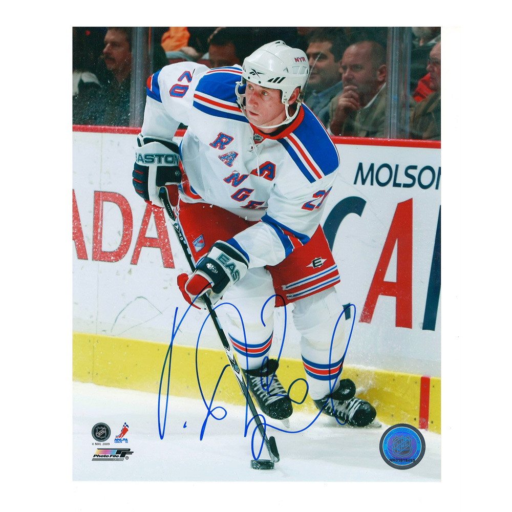 VINNY PROSPAL Signed New York Rangers 8 X 10 Photo - 70470