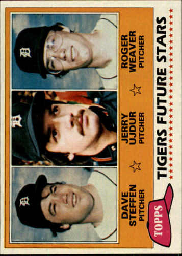 Photo of 1981 Topps #626 Dave Steffen RC/Jerry Ujdur RC/Roger Weaver RC