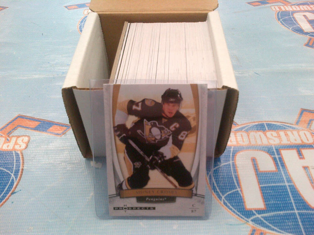 2007-08 HOT PROSPECTS Base Hockey Card Set *1-100* *CROSBY, OVECHKIN, MALKIN, ZETTERBERG CARDS*