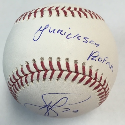 Photo of Jurickson Profar Autographed Baseball