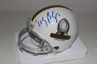 NFL - VIKINGS TEDDY BRIDGEWATER SIGNED 2016 PRO BOWL MINI HELMET
