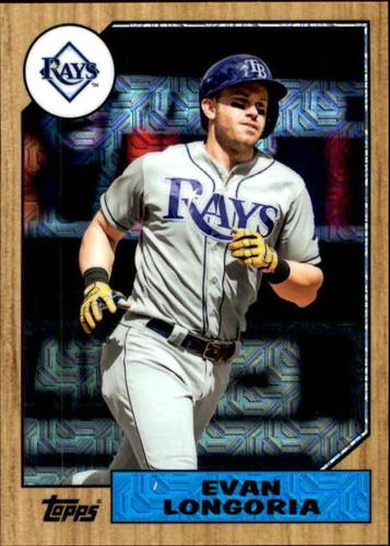 Photo of 2017 Topps '87 Topps Silver Pack Chrome #87EL Evan Longoria