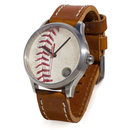 Photo of Tokens & Icons Chicago Cubs 2016 NLDS Game-Used Baseball Watch