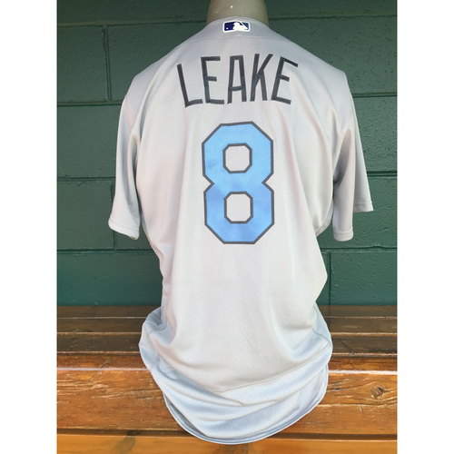 Photo of Cardinals Authentics: Game Worn Mike Leake Father Day Jersey