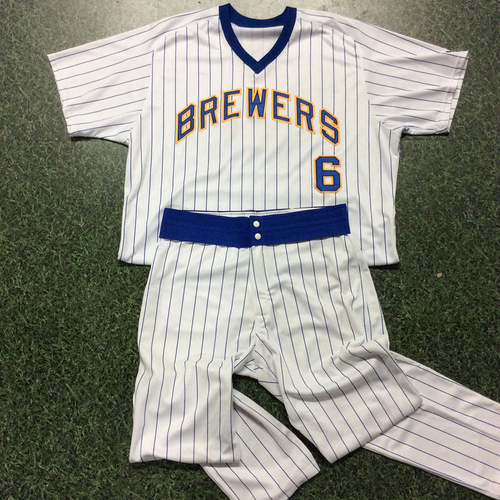 Photo of Ed Sedar 1982 Reunion Weekend Game-Used Uniform