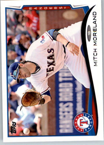 Photo of 2014 Topps #94 Mitch Moreland