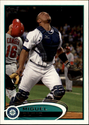 Photo of 2012 Topps #118 Miguel Olivo