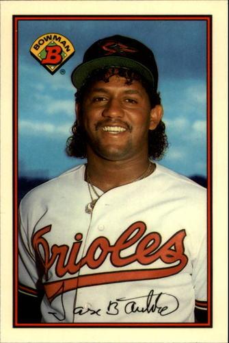 Photo of 1989 Bowman Tiffany #3 Jose Bautista