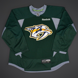 Craig Smith - Nashville Predators - 2014-15 Practice-Worn Jersey