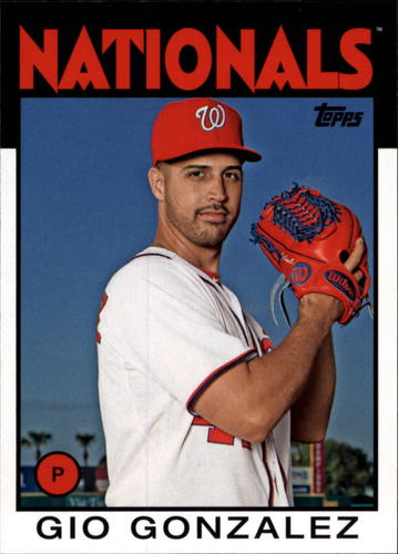Photo of 2014 Topps Archives #134 Gio Gonzalez