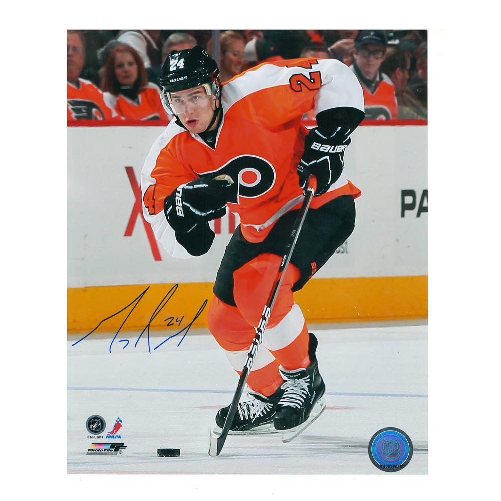 MATT READ Signed Philadelphia Flyers 8 X 10 Photo - 70358