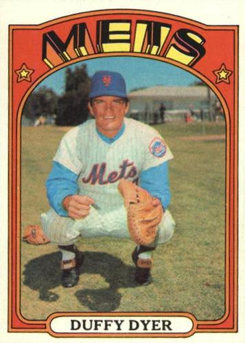 Photo of 1972 Topps #127 Duffy Dyer