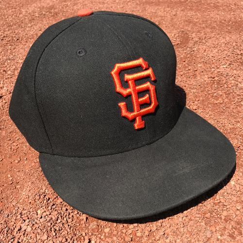 Photo of San Francisco Giants - Player Collected Cap - Matt Cain