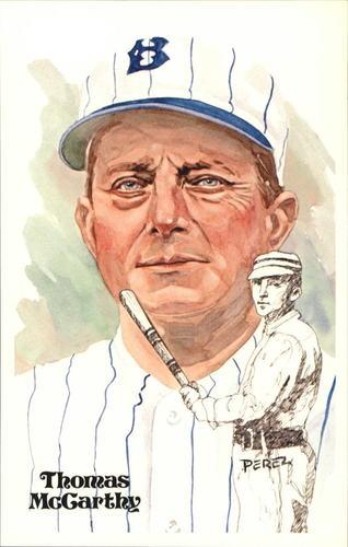 Photo of 1980-02 Perez-Steele Hall of Fame Postcards #44 Thomas McCarthy -- Set #08689