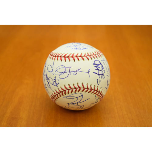 Photo of 2008 Detroit Tigers Team Signed Baseball (MLB Authentic)