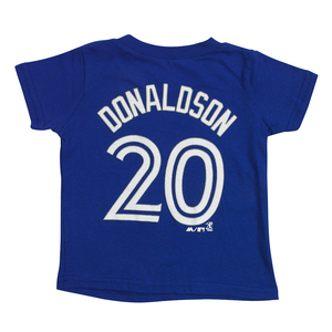 Toronto Blue Jays Toddler Josh Donaldson Player T-Shirt by Majestic