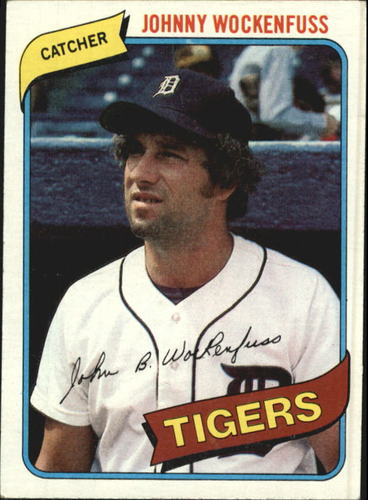 Photo of 1980 Topps #338 John Wockenfuss