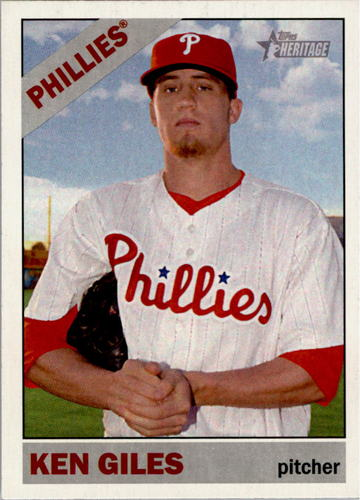Photo of 2015 Topps Heritage #94 Ken Giles
